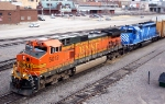 BNSF 5012 and CEFX 3156