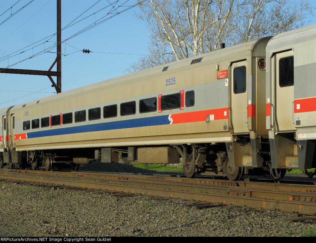 SEPTA Bombardier Comet II Coach 2525