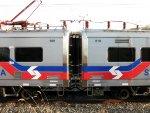 SEPTA Rotem Silverliner V's 809 & 810