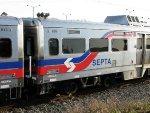 SEPTA Rotem Silverliner V 809