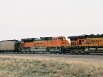 BNSF 9249 2nd power eb
