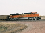 BNSF 9261 is the DPU wb behind 3 head end power units