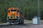 BNSF 6820  Summit of Marias Pass,Montana