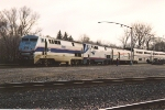 "Westbound ""Empire Builder"" makes service stop"