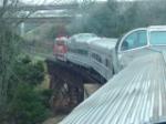 BSRX 98 over trestle