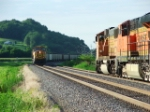 Train meet at Elsberry MO!