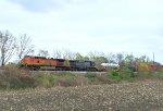 BNSF 4918-CSX 78 and an odd load......