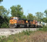 BNSF 6410-672 and ex SOO now CEFX.....