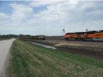 Second train meet at Burns siding......