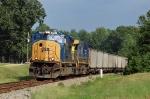 E502-20 rolls west