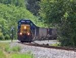 CSX 8030 heads west