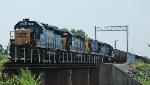 CSX 6121  CSX Train X751 (Rockrunner)