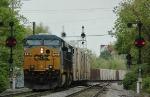 CSX 720   Juice Train