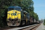 CSX 532  Westbound Coal Empties