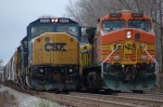 BNSF 5471  East meets West