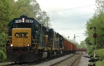 CSX 6157, Ballast Train WO75