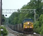CSX 376   (Train B667)