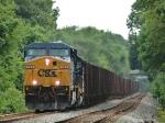 CSX 623   Herzog Ballast Train
