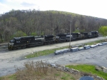 Norfolk Southern 9079, 2547, and 8897