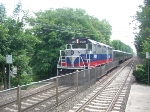 Metro North GP40FH-2 4901 at glenrock NJ