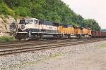 Empty all-rail ore train