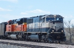 BNSF 9816 and 9136
