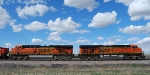 BNSF 5870 and 5867