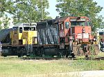 RMGX 9303 and super dead UP SD40-2