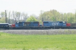 CN yard job with GTW duo