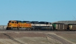 BNSF 8847 and 9531