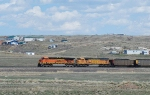 BNSF 6006 and 9902