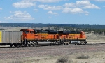 BNSF 9137 and 5930