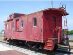 Illinois Central Steel Caboose 9972