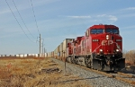 CP 8555 heads up a reroute headed for the CN