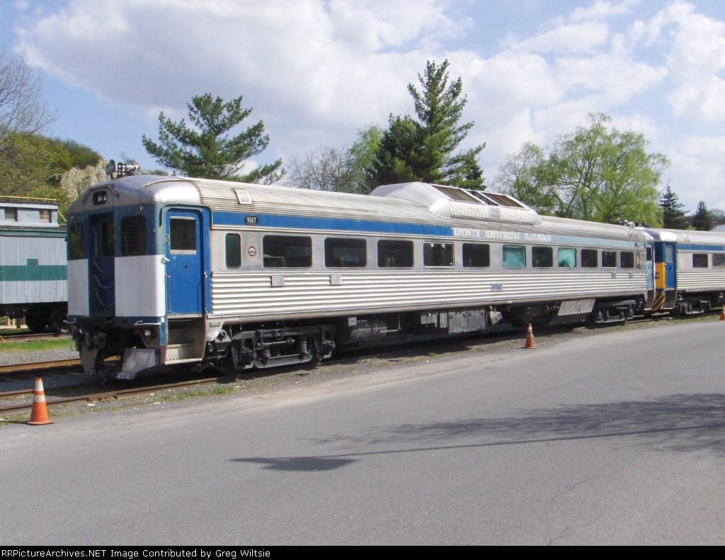 Bellefonte Historical Railroad RDC 9167