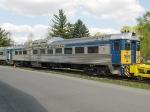 Bellefonte Historical Railroad RDC 9153