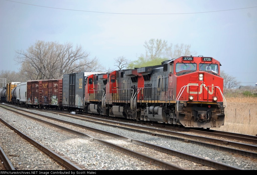 CN 2725, 2658 & 2610