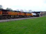BNSF 5317 and 4652