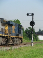 CSX 5371 on Q142 Northbound