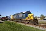 CSX 8343 this time at Rocky Mount