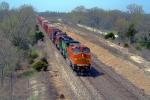 BNSF 912 leads a manifest