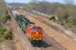 BNSF 4770 with a eastbound Manifest