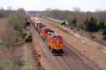 BNSF 5349 with an intermodal
