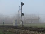 Glenn Avenue Signal at the Wye