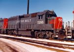 SSW 7285 was rebuilt from a ex-SAL GP40