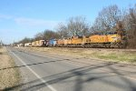 UP EB freight from NLR heading for Memphis