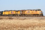 UP EB freight power
