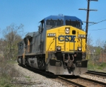 CSX 404 near Depot Grille Downtown Lynchburg