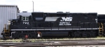 NS 700 sits in Glenwood Yard