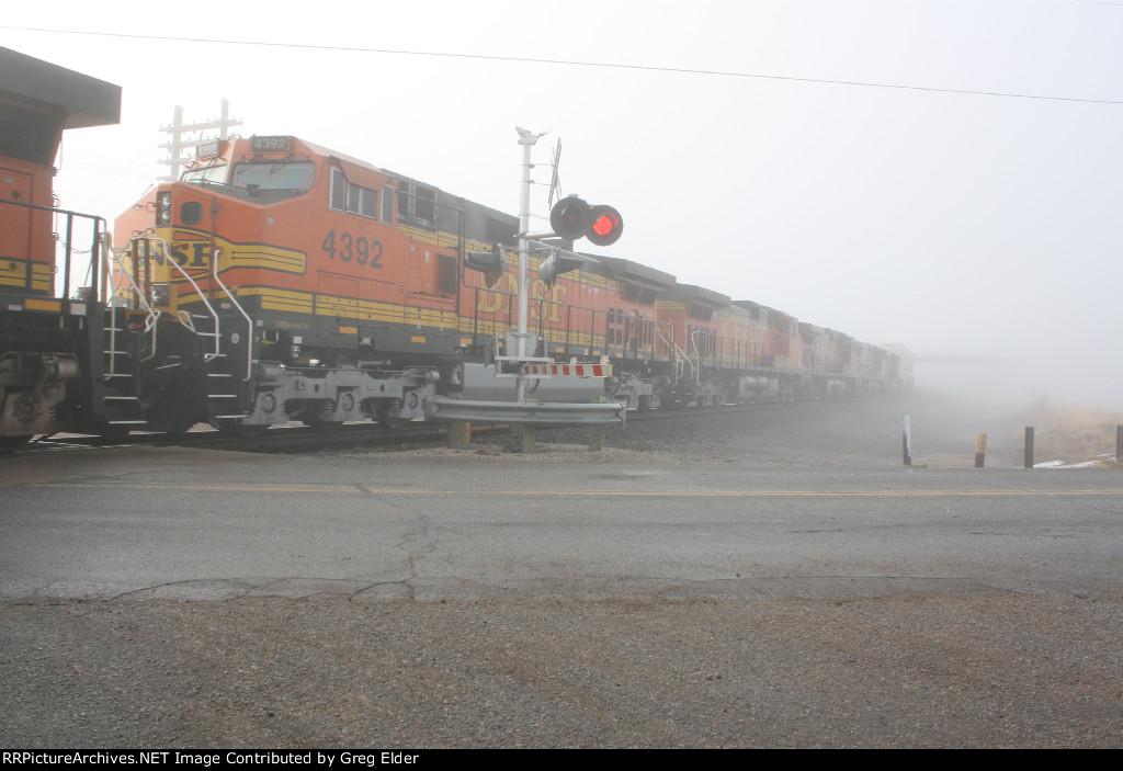 BNSF 7305 plus 5